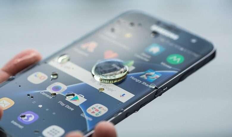 Impermeabilidad de teléfonos Samsung