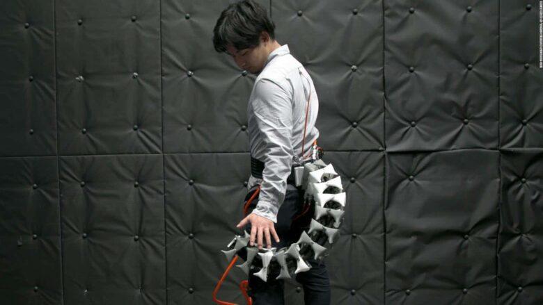Científicos diseñan una cola robótica para humanos
