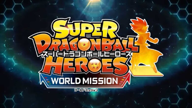 poster Super dragonball heroes world mission