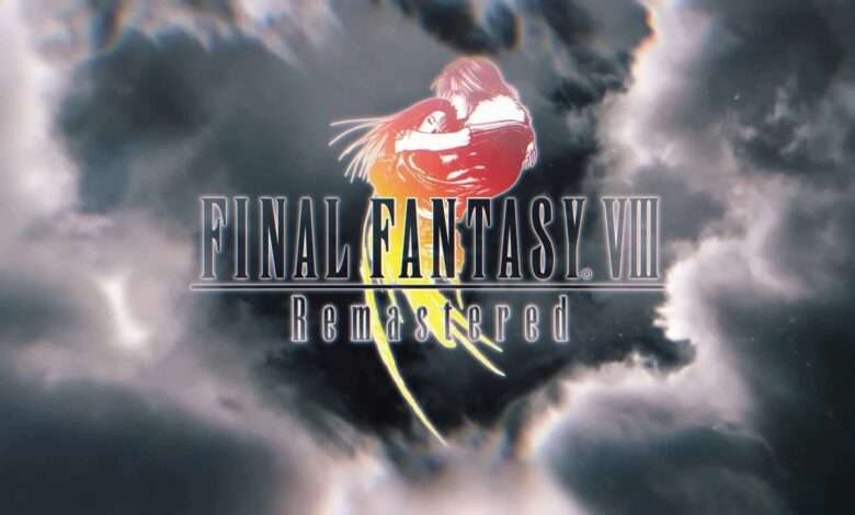 Poster de Final Fantasy VIII Remastered