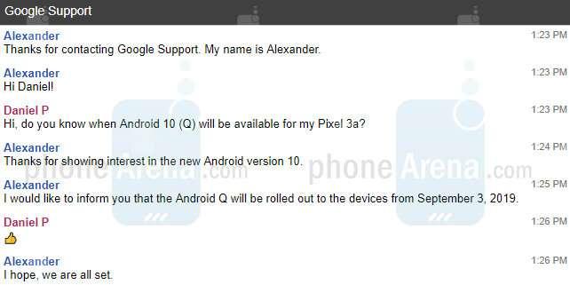 La nueva versión de Android 10 ya tiene una fecha de lanzamiento.