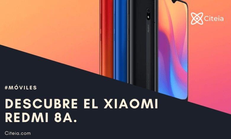 el nuevo Teléfono Redmi 8A