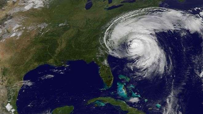 Huracanes con actividades sísmicas