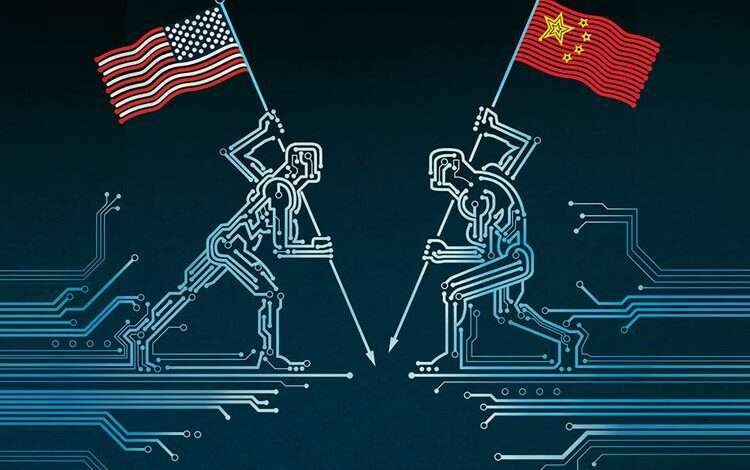 inteligencia artificial china y estados unidos