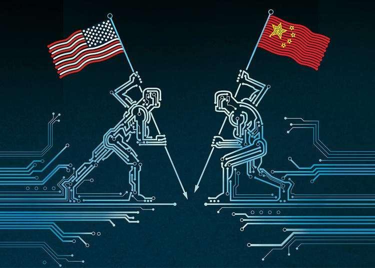 inteligencia artificial china y estados unidos