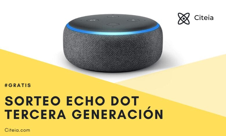 echo dot 3ra generación color antracita