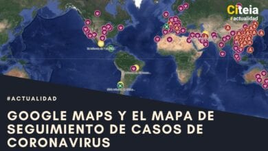 mapa de seguimiento de casos de coronavirus