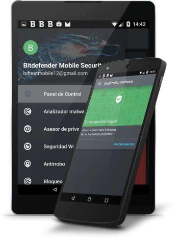 Cartel Bitdefender Mobile