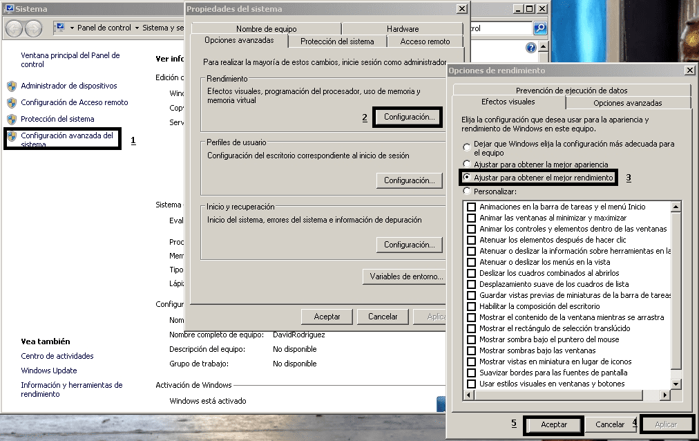 ACELERAR PROCESAMIENTO DE WINDOWS