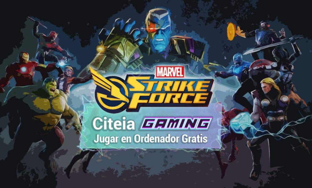 jugar marvel Strike Force en pc portada de artículo
