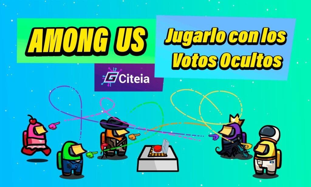 jugar among us version beta con votos ocultos portada de articulo
