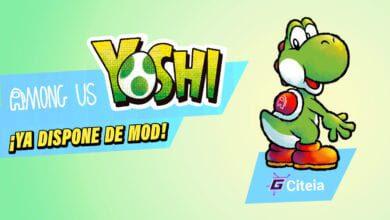 Mod de yoshi mario bross para among us portada de articulo