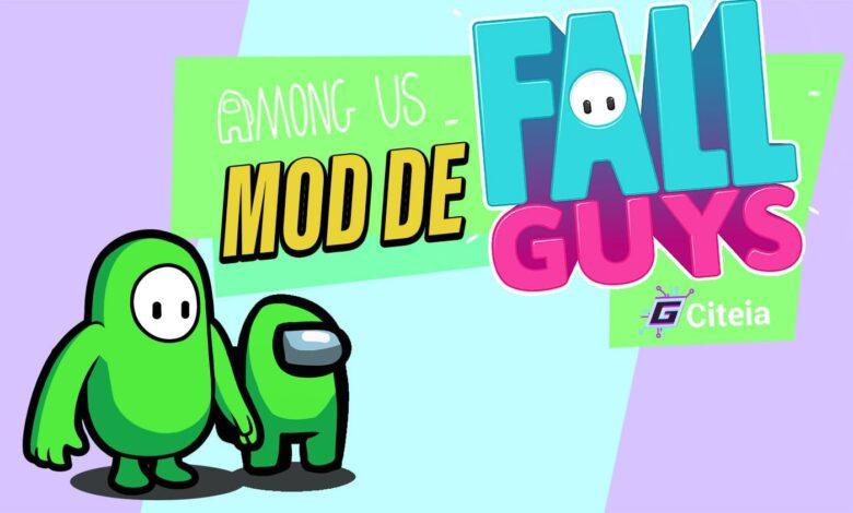 Novedades del mod Fall Guys para Among Us portada de artículo