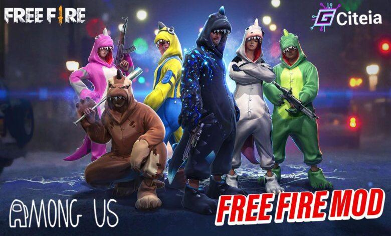 mod de free fire para among us portada de articulo