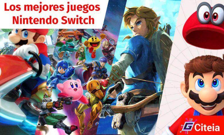 los mejores 6 juegos de nintendo switch portada de artículo