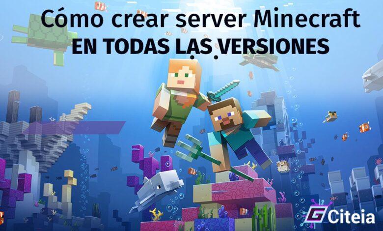 Cómo crear server Minecraft en todas las versiones portada de artículo