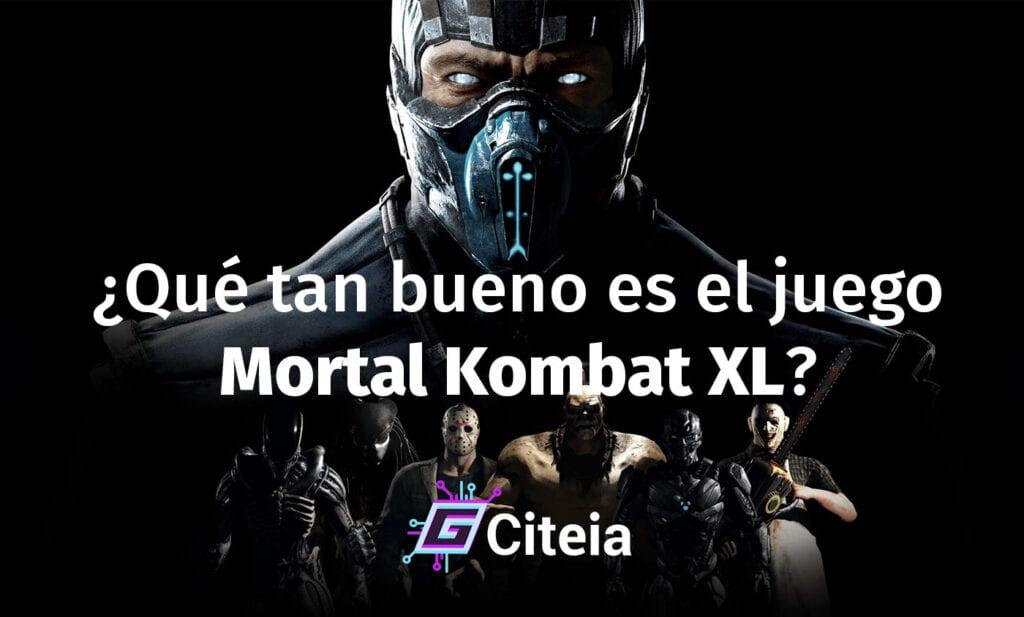 ¿Qué tan bueno es el videojuego mortal kombat xl? portada de artículo