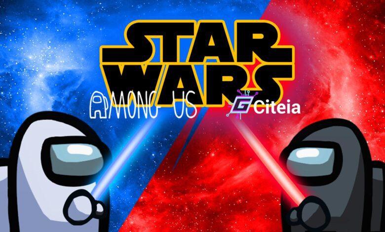 Mod star wars de among us portada de artículo