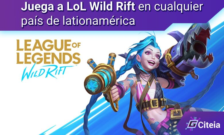 LoL Wild Rift para latinoamerica portada de artículo