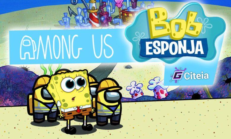 Nuevo mod de bob esponja para among us portada de artículo