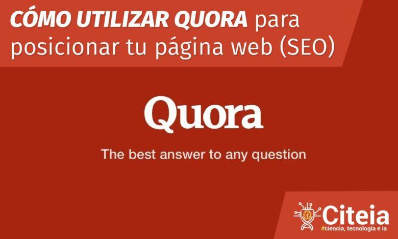 Posicionar web con Quora portada de artículo