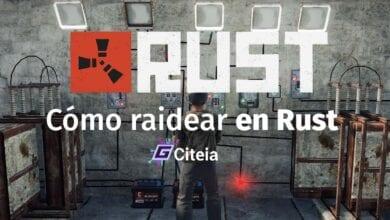 Cómo RAIDEAR casas en Rust portada de artículo