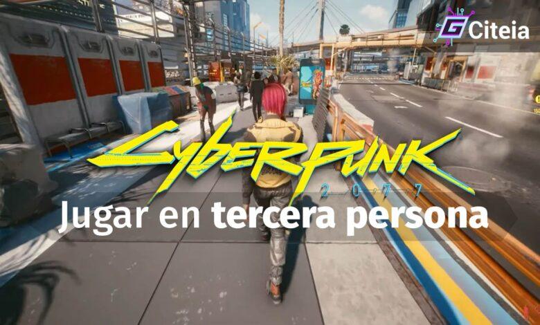 Jugar Cyberpunk 2077 en tercera persona portada de artículo