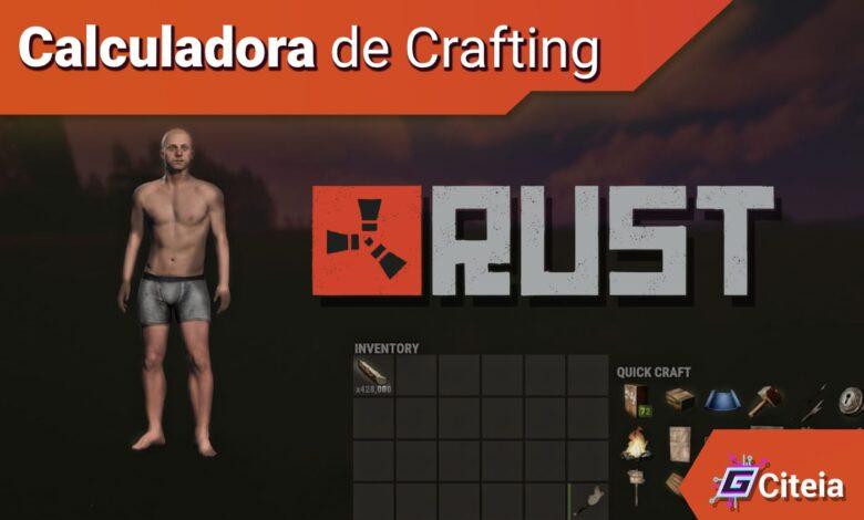 Calculadora de objetos y crafteo para Rust portada de artículo