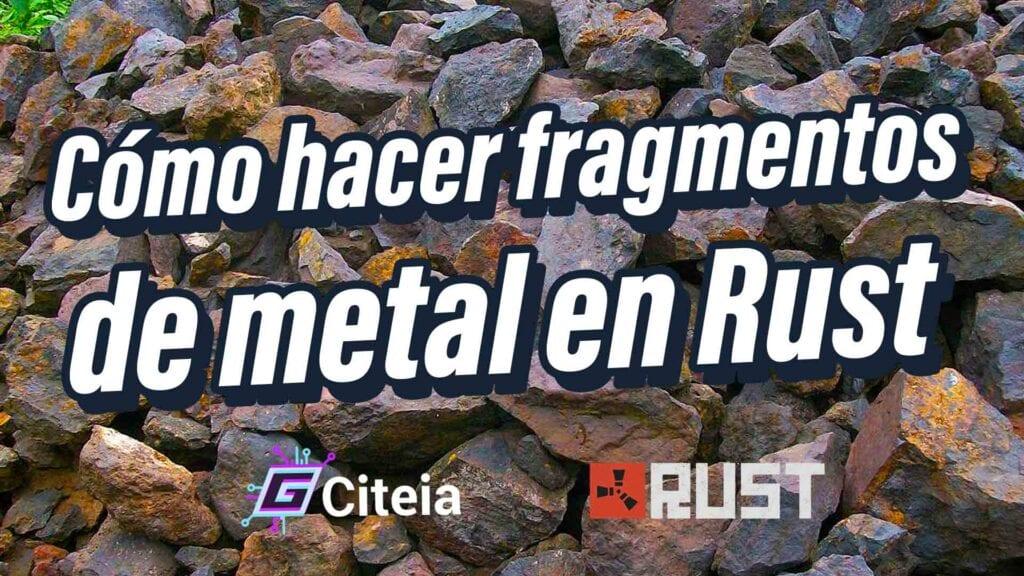 Cómo hacer fragmentos de metal en Rust portada de artículo