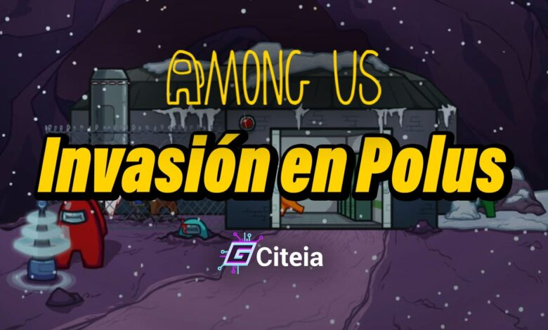 Invasión en Polus nuevo mapa de among us portada de artículo