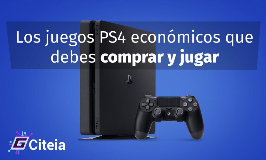 Los juegos PS4 baratos que debes comprar y jugar portada de artículo