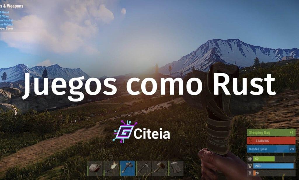 Juegos como Rust ¿Cuáles son? portada de artículo