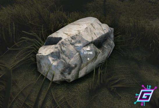 Recolectar piedra en Rust