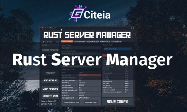 cómo crear un rust server manager portada de artículo