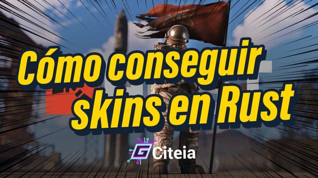 Cómo conseguir SKINS en Rust portada de artículo
