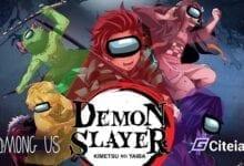 Mod Demon Slayer Para Among us portada de artículo