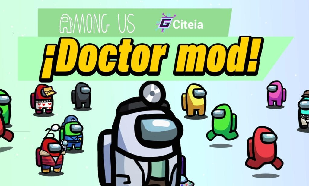 Mod DOCTOR para Among Us portada de artículo