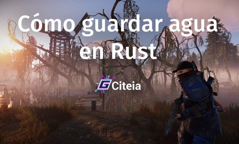 ¿Cómo guardar agua en Rust sin estar contaminada? portada de artículo