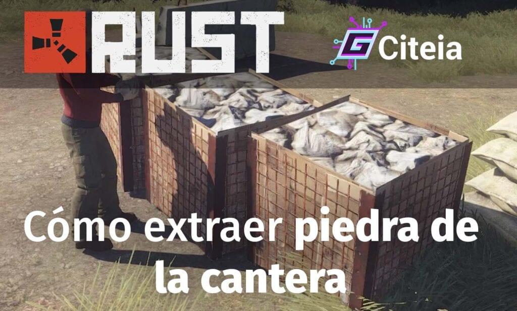 Extraer piedra en Rust y cómo usar la cantera portada de artículo