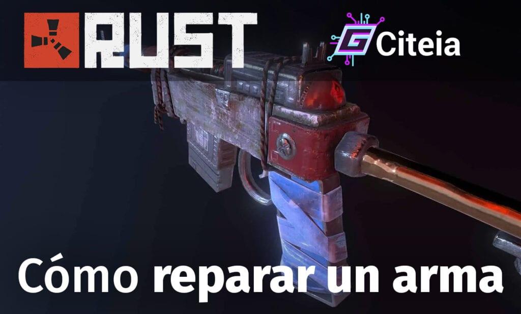 ¿Cómo reparar un arma en Rust y hacer mesa de reparaciones? portada de artículo y fabricación de equipo