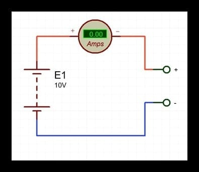 análisis de un circuito eléctrico abierto