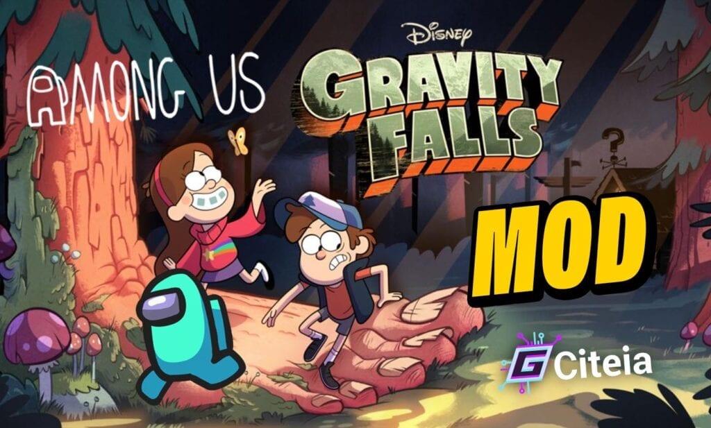 Mod Gravity Falls Para Among Us portada de artículo
