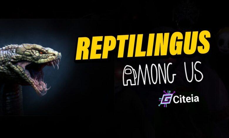 Còmhdach artaigil Mod Reptilingus Among Us