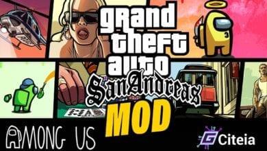 Mod Gta San Andreas para Among Us portada de artículo