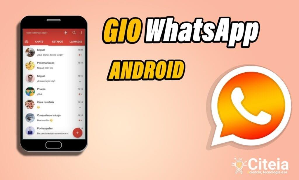 Descargar GioWhatsApp para dispositivos Android (APK) portada de artículo
