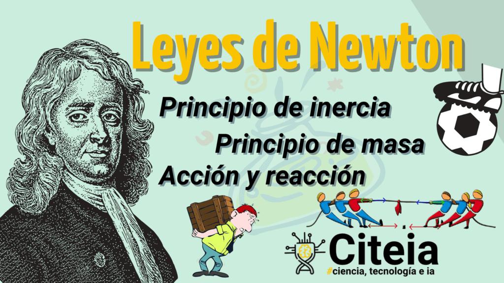 """Leyes de Newton """"fácil de entender"""" portada de artículo"""
