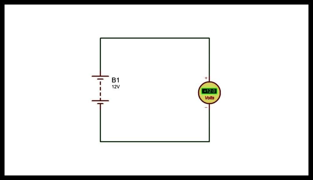 Conexión del Voltímetro instrumentos de medición eléctrica