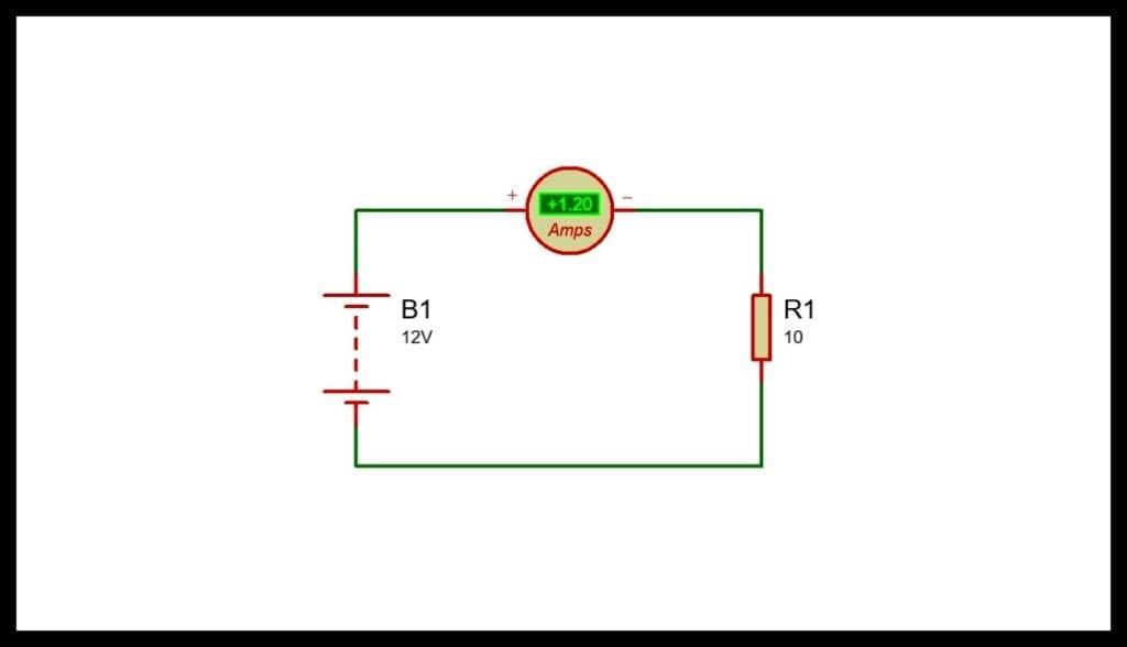 Medición con Amperímetro instrumentos de medición eléctrica