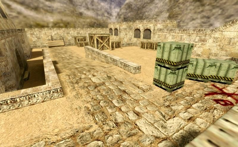 Mapa Dust 1 para jugar counter Strike 1.6