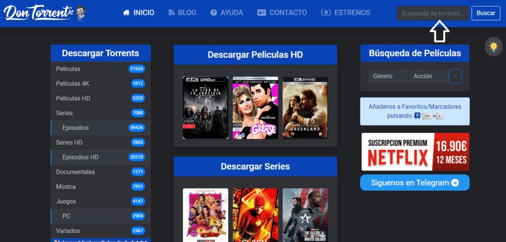 lista de sitios alternativos de descarga de películas y series si no puedes ingresar  por exvagos.